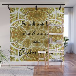 A Psalm of Hope and Faith Wall Mural