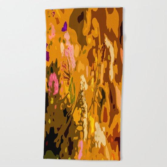 Autumn bouquet Beach Towel