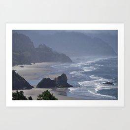The Oregon coast. Art Print