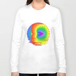 Rainbow kaleidoscope Long Sleeve T-shirt
