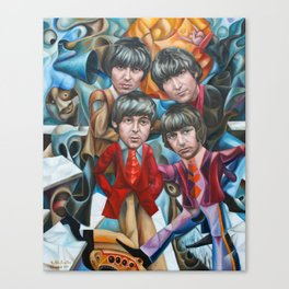 The Abbey Road Trip 2017 Canvas Print