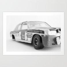 Wrecked Toy Car - Alpha Romeo Art Print
