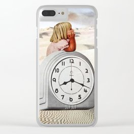 Time Zone 3 Clear iPhone Case