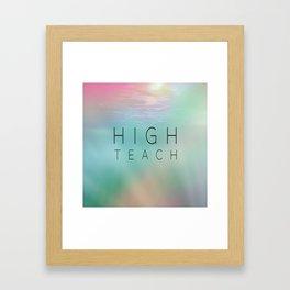 High Teach Framed Art Print