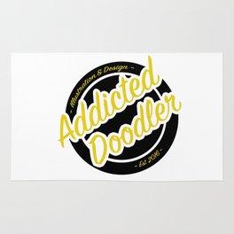 Logo - Black & Gold Rug