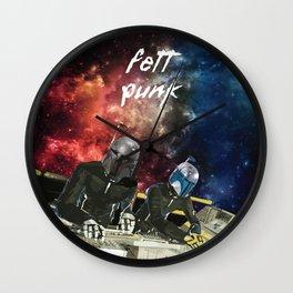 Fett Punk Wall Clock