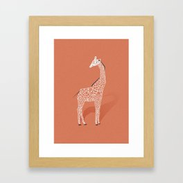 Animal Kingdom: Giraffe I Framed Art Print
