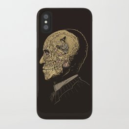 Why zombies want brains iPhone Case