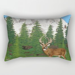 Mountain Buck Rectangular Pillow