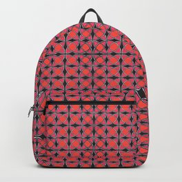 Hemy cicle fence pattern Backpack
