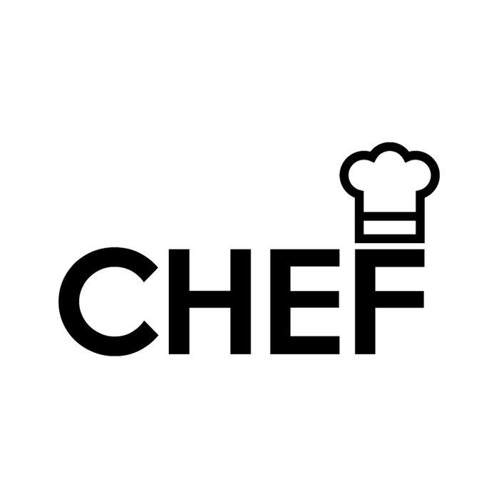 CHEF Logo Duvet Cover