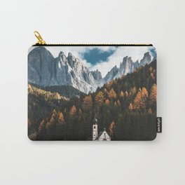 santa maddalena church in val di funes Carry-All Pouch