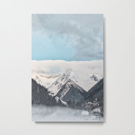 winter scene #society6 #decor #homedecor #buyart Metal Print