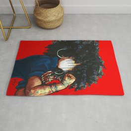Naturally the Riverter RED Rug