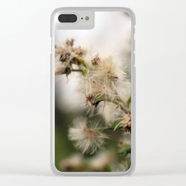 Fluffy weed Clear iPhone Case