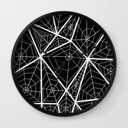 The Spider's webs Wall Clock