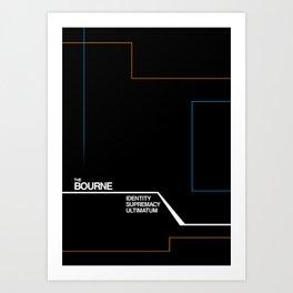 Bourne Art Print