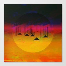 Pink Horizon / Archipelago Canvas Print