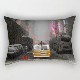 Snow Empire - NYC Rectangular Pillow