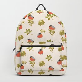 Eurasian bullfinch Backpack