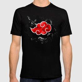 red cloud akatsuki watercolor  T-shirt