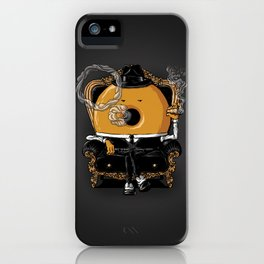 Gangster Donut iPhone Case