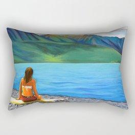 Epuyén Lake  Rectangular Pillow