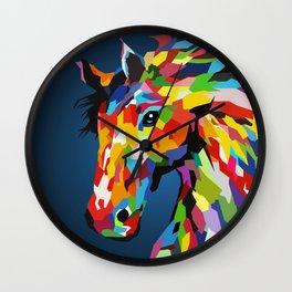 Super Horse Wall Clock