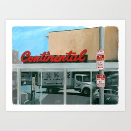 No Standing At The Continental Art Print