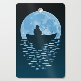 Hooked by Moonlight Cutting Board