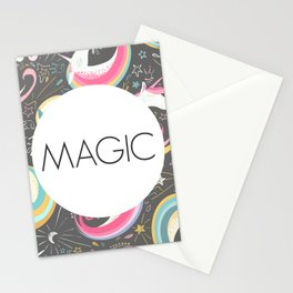 Unicorns + Magic Stationery Cards