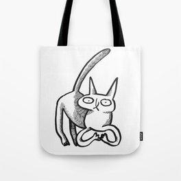 who, kat? Tote Bag