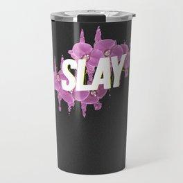 Floral Slay Travel Mug
