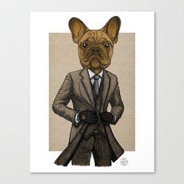 Much Handsome, Dapper Doge Canvas Print