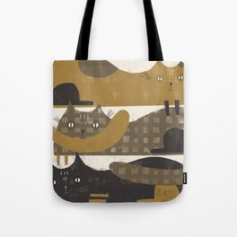 TRIPLE DECKER Tote Bag