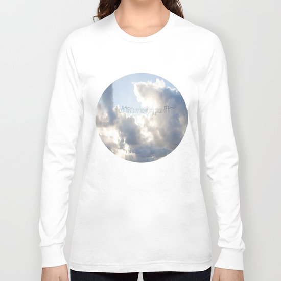 On Earth there is no Heaven ♥ Long Sleeve T-shirt