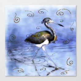 Artfully In Stride Canvas Print