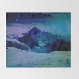 The Misty Mountains Throw Blanket