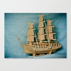Sailing Into The New Year Canvas Print