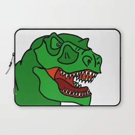 Green T-Rex Laptop Sleeve