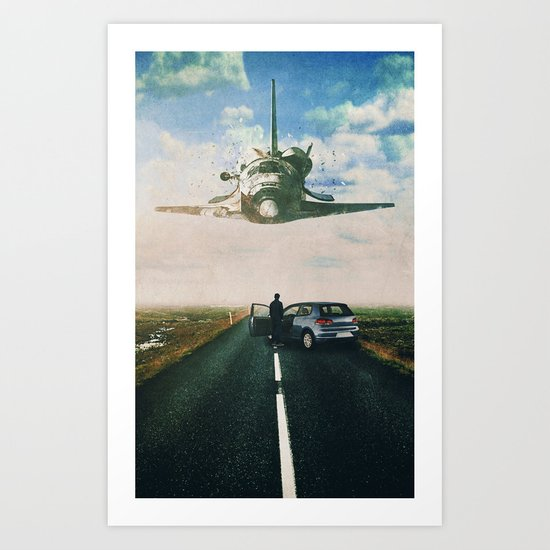 Discovered Art Print