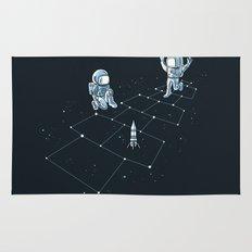 Hopscotch Astronauts Rug