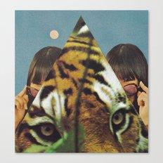 Tiger's EYE Canvas Print