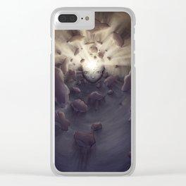 The Sun Falls Apart Clear iPhone Case