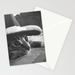 Molly in black and white Stationery Cards