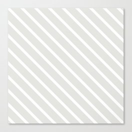 Ice Diagonal Stripes Canvas Print