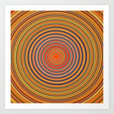 Hard Candy Swirl Art Print