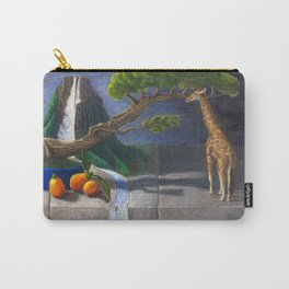 Still Life With Kumquats and Giraffe Carry-All Pouch