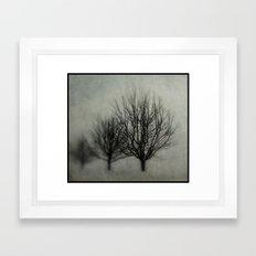 Winter's Solitude Framed Art Print