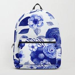 Flowers Print Backpack